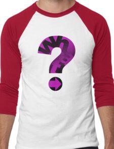 WHAT(PINK) Men's Baseball ¾ T-Shirt