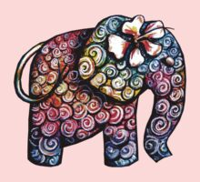 Tattoo Elephant Kids Tee