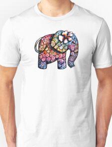 Tattoo Elephant Unisex T-Shirt
