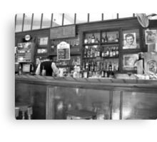 A Bar in Old Havana Canvas Print