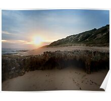 Point Lonsdale at dusk Poster