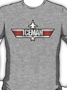 Top Gun Iceman (with Tomcat) T-Shirt