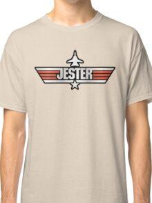 Top Gun Jester (with Tomcat) Classic T-Shirt