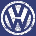 VW Volkswagen Logo by travis b52