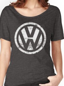 VW Volkswagen Logo Women's Relaxed Fit T-Shirt