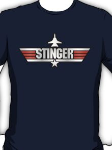 Top Gun Stinger (with Tomcat) T-Shirt