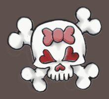 Girly Skull 2 Baby Tee