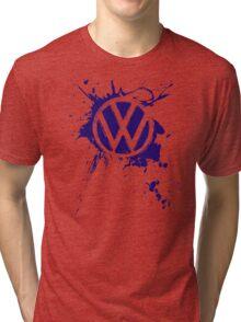 VW Volkswagen Logo Tri-blend T-Shirt