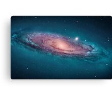 Andromeda Galaxy, space, astrophysics, astronomy Canvas Print