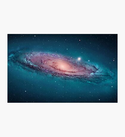 Andromeda Galaxy, space, astrophysics, astronomy Photographic Print