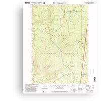 USGS Topo Map Oregon Pinhead Buttes 281102 1997 24000 Canvas Print
