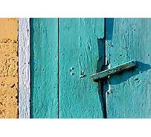 Caribean Door Latch Photographic Print