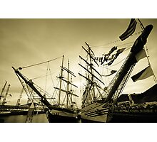 Tall Ships at Hartlepool Photographic Print