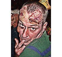 Goofy Zombie Photographic Print