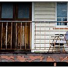 On The Verandah, Stones Corner, Queensland, Australia. by Madeleine Marx-Bentley