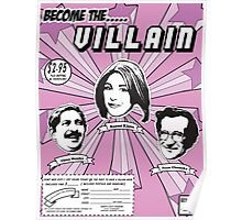 BECOME THE VILLAIN PART2 Poster