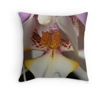 Orchid Tounge Throw Pillow