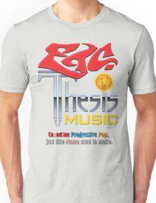 Etcetera Thesis Music Unisex T-Shirt