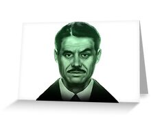 Fallout Mr. House (Robert House) Greeting Card