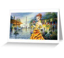 Scholar Princess Greeting Card