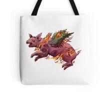 Porky Panic Tote Bag