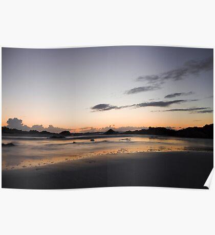 Pastel Sunset Poster