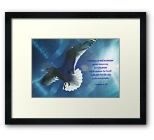 Sufficient for the day is its own troubles Framed Print