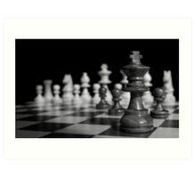 The chess Art Print