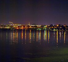 Bay Lights by Clive