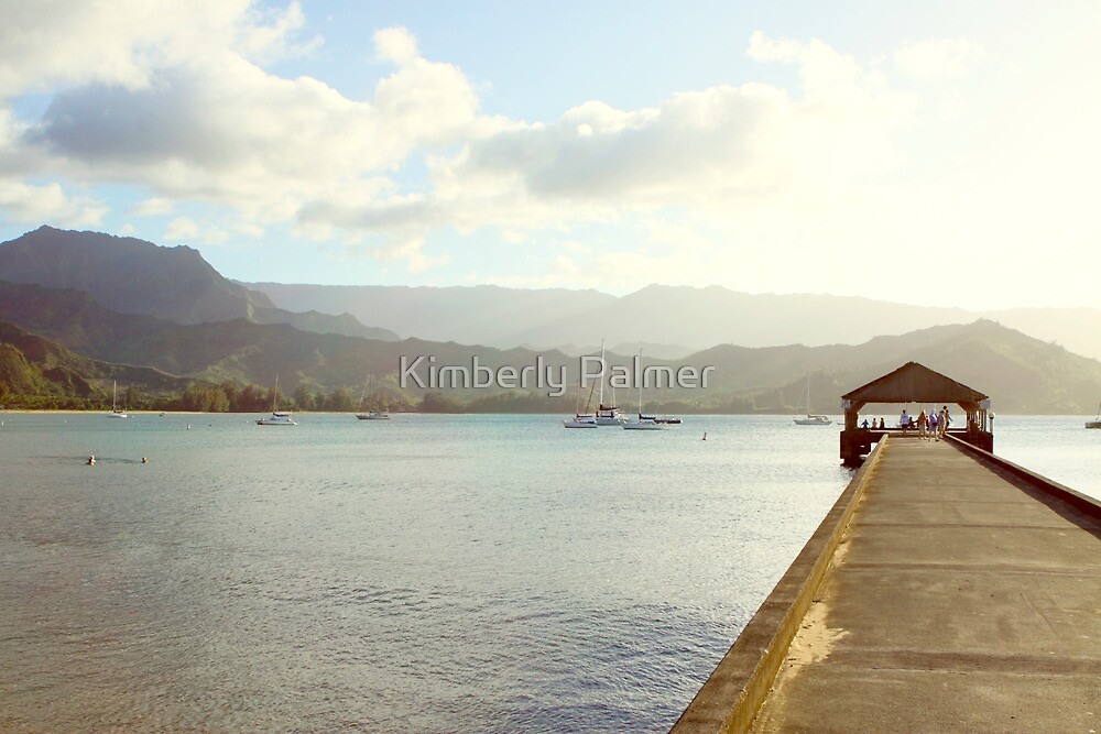 Kauai Pier by Kimberly Palmer