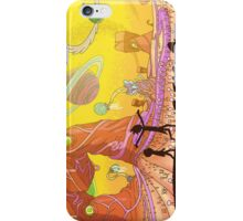 Rick and Morty-- landscape iPhone Case/Skin