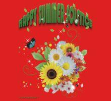 Happy Summer Solstice One Piece - Short Sleeve