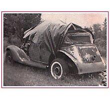 1935 Auburn Convertible Sedan Photographic Print