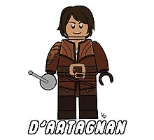 D'Artagnan Lego Photographic Print