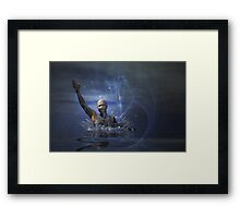 Rising from the Depths Framed Print