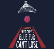 'Red Cape, Blue Fur...' (Super Grover / Friday Night Lights)