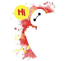 hello ! I'm your personal healthcare companion Photographic Print
