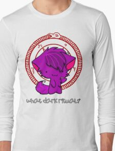 What Dark Ritual? - Chibi Shirt. Long Sleeve T-Shirt