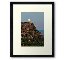 Nourlangie Supermoon Framed Print