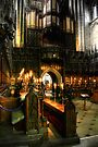 Inside the Choir at Ripon Cathedral by Christine Smith