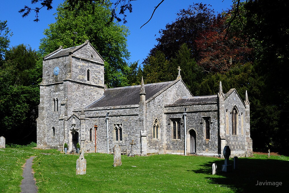 Orcheston St Mary, Wiltshire, UK by Javimage