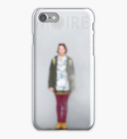MOIRE PHOTO TYPOGRAPHY iPhone Case/Skin