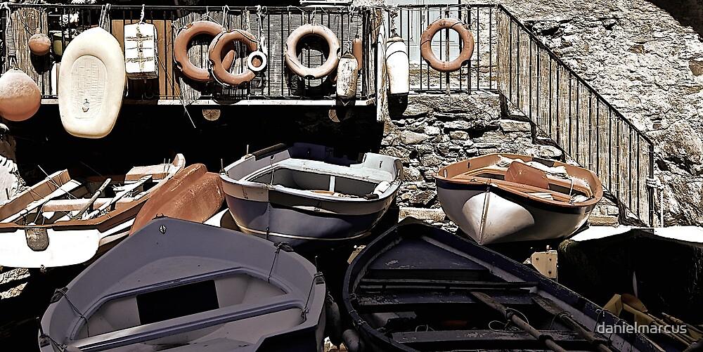 The Docks of Riomaggiore by danielmarcus
