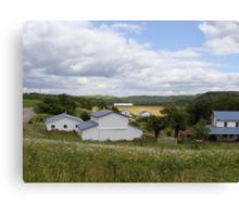 An Amish Community Canvas Print