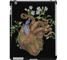 Heart - Wood iPad Case/Skin