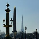 Place de la Concorde - vertical composition by bubblehex08