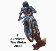 I Survived The Finke Desert Race Kids Tee