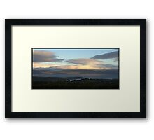 ...and then a whole new peninsula floated by. Framed Print