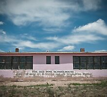 Old Pink Schoolhouse by Matthew Osier