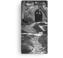 Old Taos Guesthouse Canvas Print